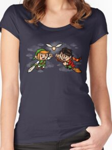 A Link to the Snitch Women's Fitted Scoop T-Shirt