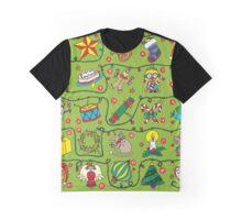Advent Calendar the 24 Days of Christmas Graphic T-Shirt