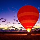 Outback Ballooning by Dean Cunningham