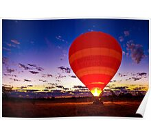 Outback Ballooning Poster