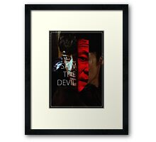 Kim Jee-woon's I Saw the Devil Framed Print