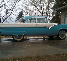 55' Ford Fairlane, Victoria. On the Go by thepouring
