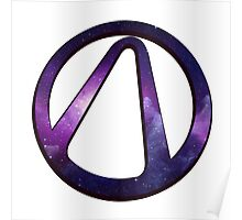 borderlands 2 vault symbol galaxy Poster