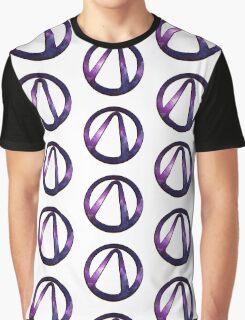 borderlands 2 vault symbol galaxy Graphic T-Shirt