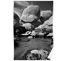 Rockpool at Whiskey Bay Poster