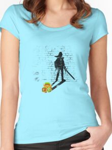 Becoming a Legend - Link:Original Women's Fitted Scoop T-Shirt