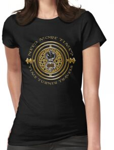 Time Turner Travels Womens Fitted T-Shirt