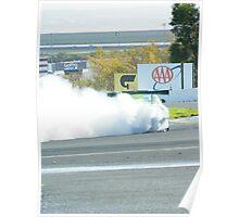 burning rubber  Poster