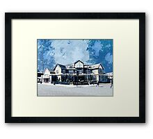 The Long Room, Tooting, SW17, London Framed Print