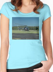 Evans Head Airshow 2010 - Bell 47 Women's Fitted Scoop T-Shirt