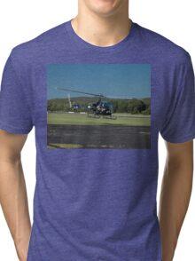 Evans Head Airshow 2010 - Bell 47 Tri-blend T-Shirt