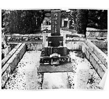 Cemetery in Kamakura, Japan Poster