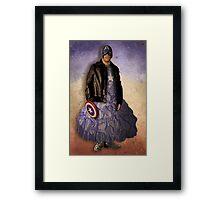 Cap'n Gown Framed Print