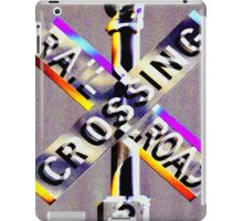 Railroad Crossing! iPad Case/Skin