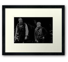 Rick Price Singer Framed Print