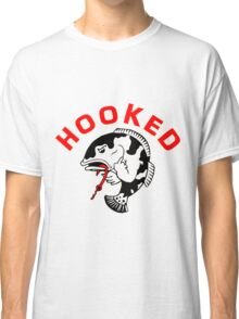 FISHING - ANGRY FISH HOOKED Classic T-Shirt