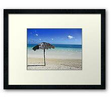 Relaxation in Cuba Framed Print