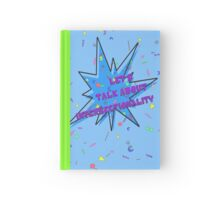 Let's talk about intersectionality ('90s) Hardcover Journal