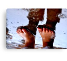 FEET Canvas Print