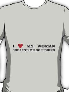 FISHING - LET ME FISH T-Shirt