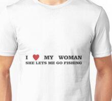 FISHING - LET ME FISH Unisex T-Shirt