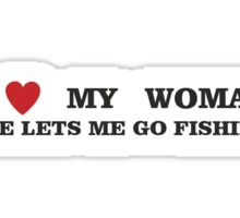 FISHING - LET ME FISH Sticker