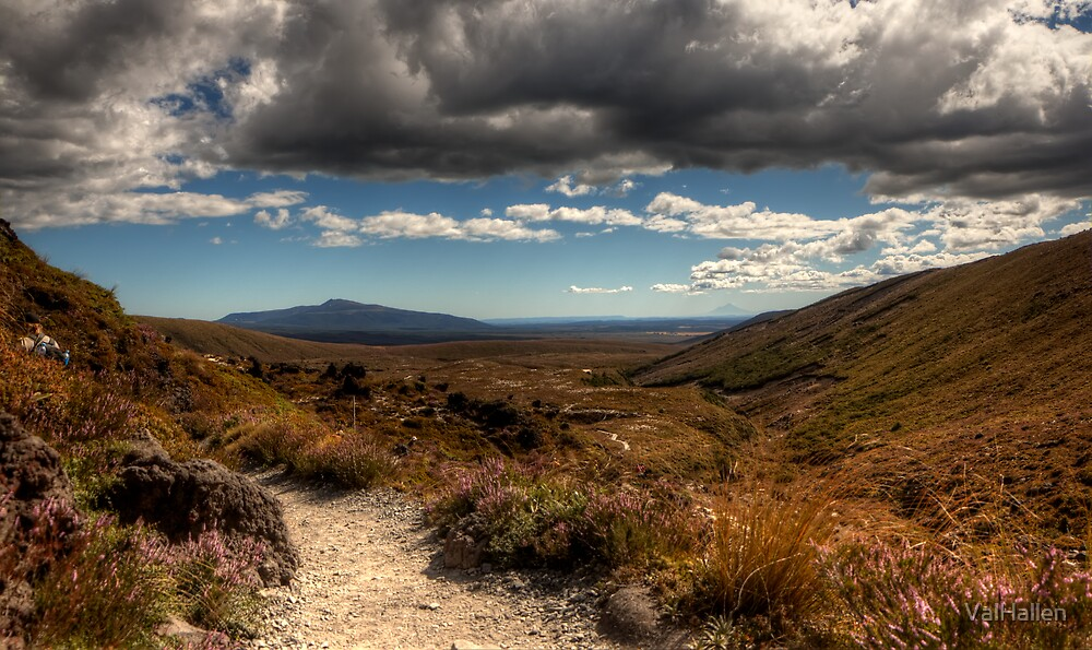 Mount Taranaki out in the Blue by ValHallen