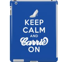 Keep Calm And Carrie On iPad Case/Skin