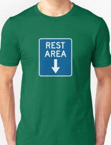 Rest Area - Down Arrow Unisex T-Shirt
