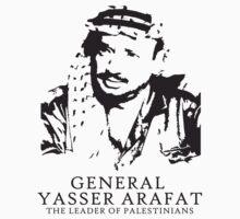 Yasser Arafat T shirts and stickers by darweeshq