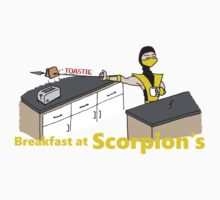 Toastie Breakfast at Scorpions Kids Clothes