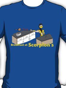 Toastie Breakfast at Scorpions T-Shirt