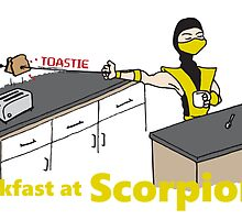 Toastie Breakfast at Scorpions by RetroReview