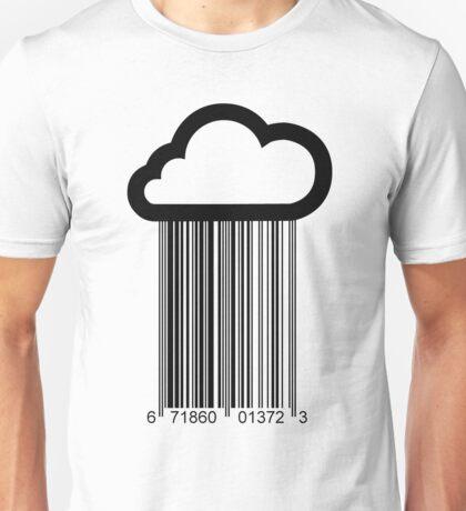 Barcode Cloud Unisex T-Shirt