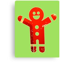 Ginger Bread Man Holiday Canvas Print