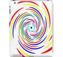 Coloured Spiral iPad Case/Skin