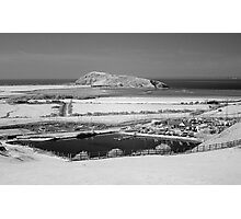 Brean Down viewed from Uphill near Weston-super-Mare Photographic Print