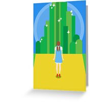 emerald city. Greeting Card