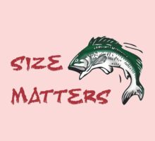 SIZE MATTERS FISHING T Baby Tee