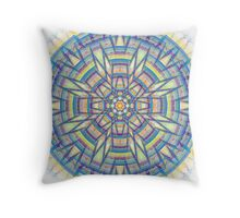 Julia's Wheel Throw Pillow
