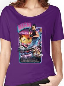Miami Connection Poster Shirt Women's Relaxed Fit T-Shirt