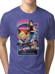 Miami Connection Poster Shirt Tri-blend T-Shirt