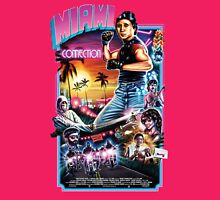 Miami Connection Poster Shirt Womens Fitted T-Shirt