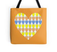Heart Tiles 1 Tote Bag