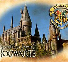 Greetings from Hogwarts by derekTheLair