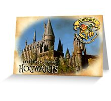 Greetings from Hogwarts Greeting Card
