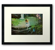 The Fairy Piper Framed Print