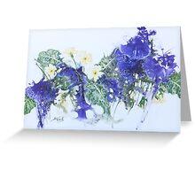 Primrose -on - Yupo Greeting Card