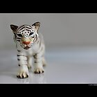 Schleich Vintage White Tiger Toy Figurine by © Sophie W. Smith