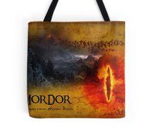 Greetings from Mount Doom Tote Bag